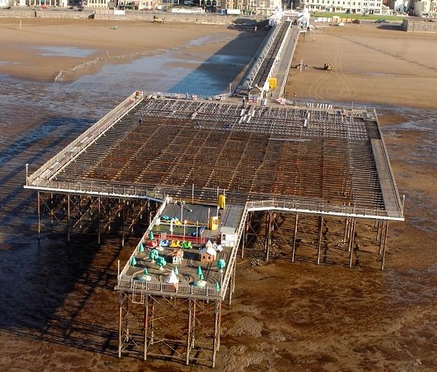 Weston Pier - Construction